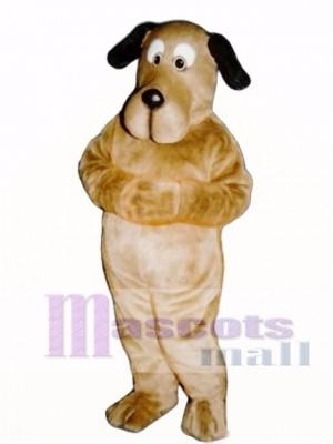 Cute Educated Dog Mascot Costume Animal