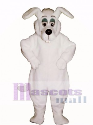 Cute Bucktooth Dog Mascot Costume Animal