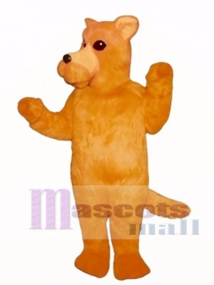 Cute Orange Dog Mascot Costume Animal