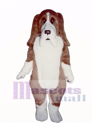 Cute Basset Hound Dog Mascot Costume Animal