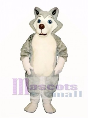 Cute Herman Husky Dog Mascot Costume Animal