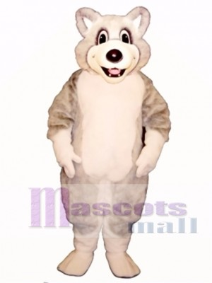 Cute Baby Husky Dog Mascot Costume Animal