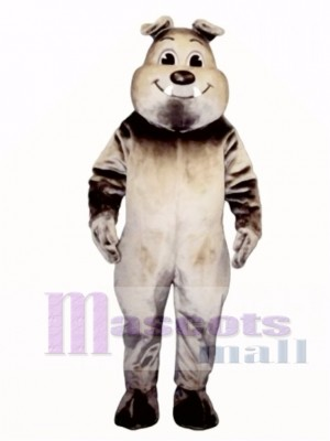 Cute Tuffy Bulldog Mascot Costume Animal