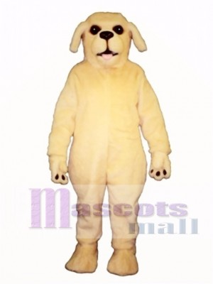 Cute Golden Lab Dog Mascot Costume Animal