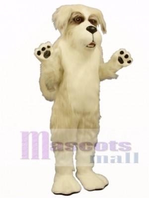Cute Fluff Dog Mascot Costume Animal