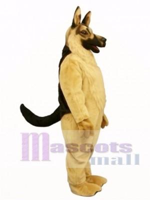 Cute German Shepard Dog Mascot Costume Animal