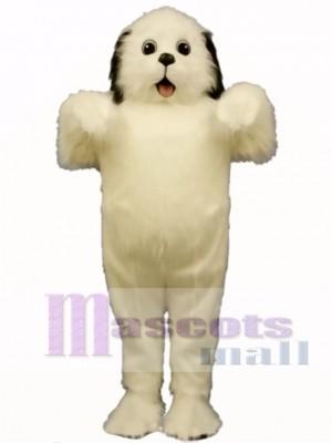 Cute Shaggy Maggy Dog Mascot Costume Animal