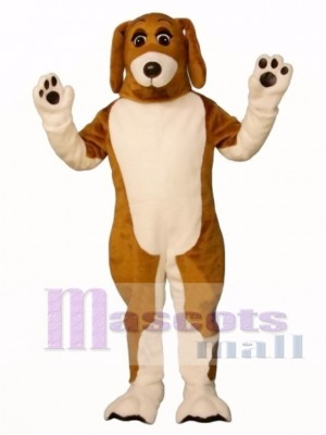 Cute Bossy Beagle Dog Mascot Costume Animal