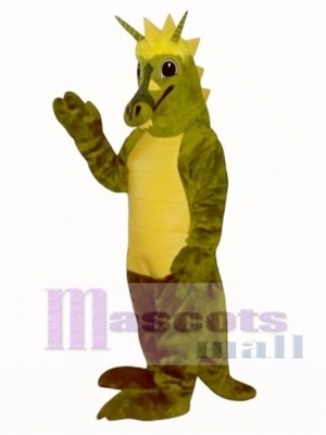 Friendly Dragon Mascot Costume Animal