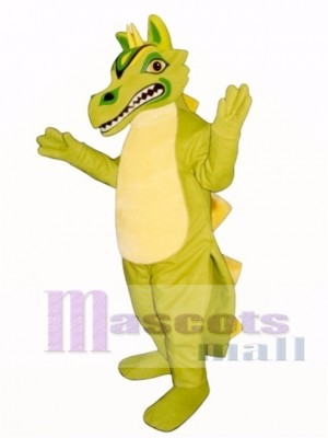 Green Oriental Dragon Mascot Costume Animal