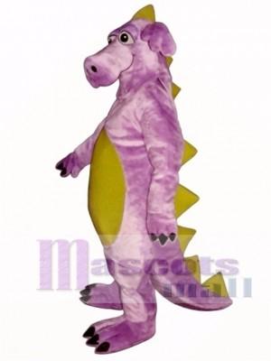Purple Whimsical Dragon Mascot Costume Animal