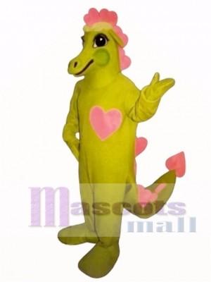 Cute Dragonheart Mascot Costume Animal