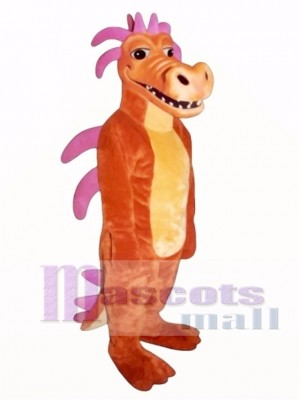 Cute Duncan Dragon Mascot Costume Animal