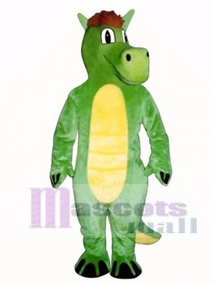 Dopey Dragon Mascot Costume Animal