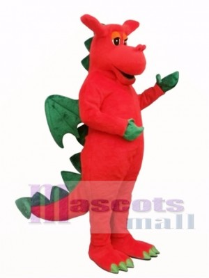 Winged Dragon Mascot Costume Animal