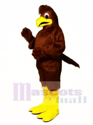 Cute Crested Hawk Mascot Costume Animal
