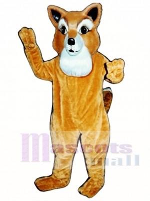 Cute Frankie Fox Mascot Costume Animal