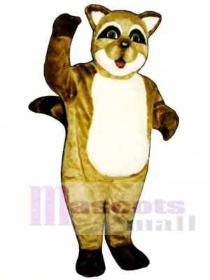 Rocky Raccoon Mascot Costume Animal