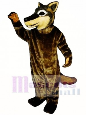 Cute Coyote Wolf Mascot Costume Animal