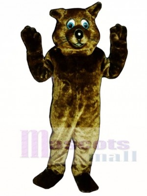 River Otter Mascot Costume Animal