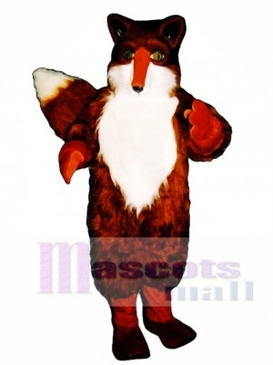 Cute Red Fox Mascot Costume Animal