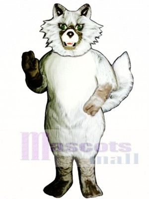 Cute Wild Coyote Wolf Mascot Costume Animal