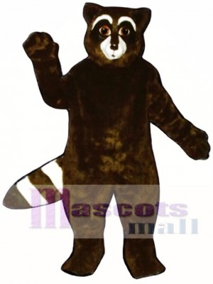 Rex Raccoon Mascot Costume Animal