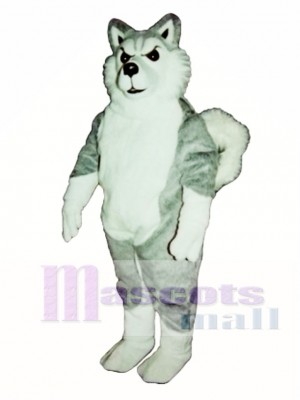 Cute Willy Wolf Mascot Costume Animal