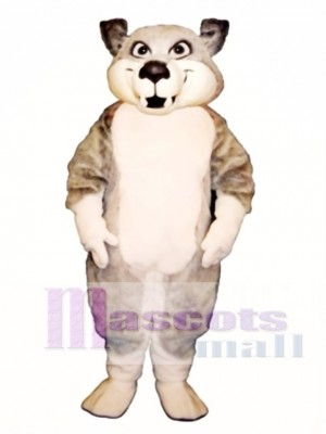 Cute Charley Wolf Mascot Costume Animal