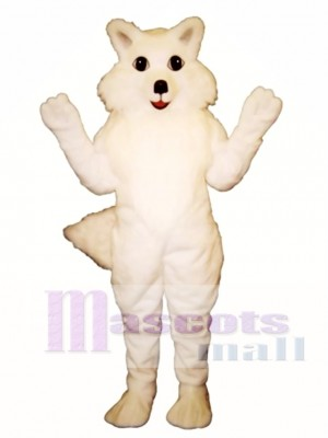 Cute Arctic Fox Mascot Costume Animal