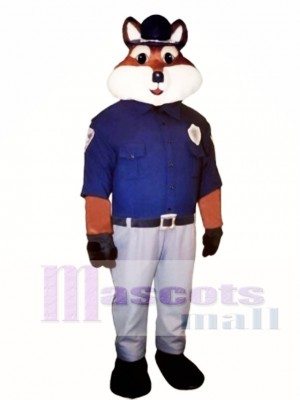 Cute Trooper Fox Mascot Costume