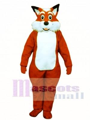 Cute Fred Fox Mascot Costume Animal