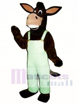 Cute Laughing Donkey Mascot Costume Animal