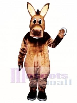 Cute Jack Donkey Christmas Mascot Costume Animal