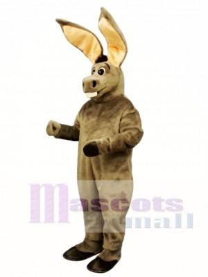 Cute Big Ears Jack Donkey Mascot Costume Animal