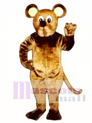 Brown Mouse Mascot Costume Animal