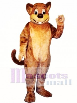 Morley Muskrat Mascot Costume Animal
