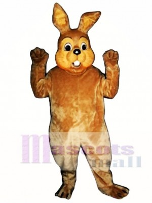Cute Easter Bramble Bunny Rabbit Mascot Costume Animal