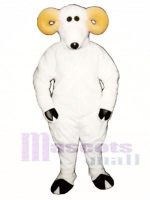 Cute Ronnie Ram Mascot Costume Animal