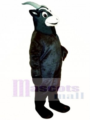 Black Goat Mascot Costume Animal