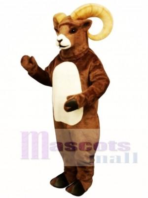 Cute Rocky Ram Mascot Costume Animal