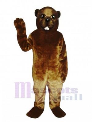 Lumberjack Beaver Mascot Costume Animal