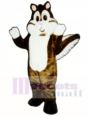 Calvin Chipmunk Mascot Costume Animal