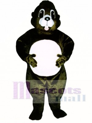 Happy Groundhog Mascot Costume Animal