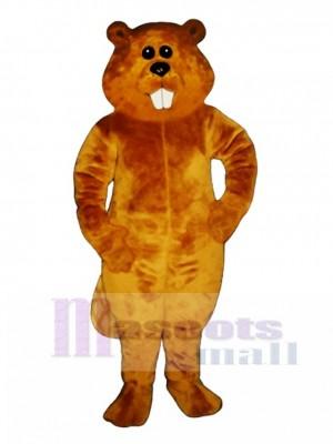 Albert Beaver Mascot Costume Animal