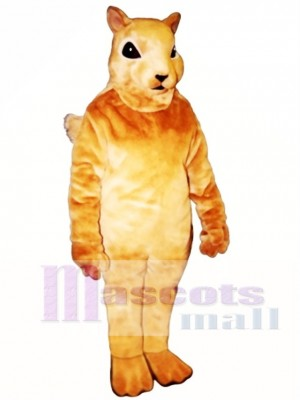 Squirrel Squirrely Mascot Costume Animal