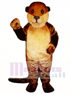 Ollie Otter Mascot Costume Animal