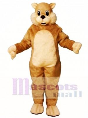 Chatty Squirrel Mascot Costume Animal