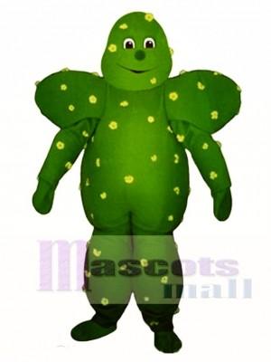 Prickly Cactus Mascot Costume Plant
