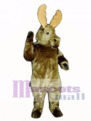 Cute Realistic Moose Mascot Costume Animal